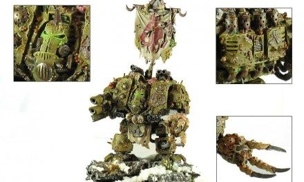 Showcase: Nurgle Dreadnought