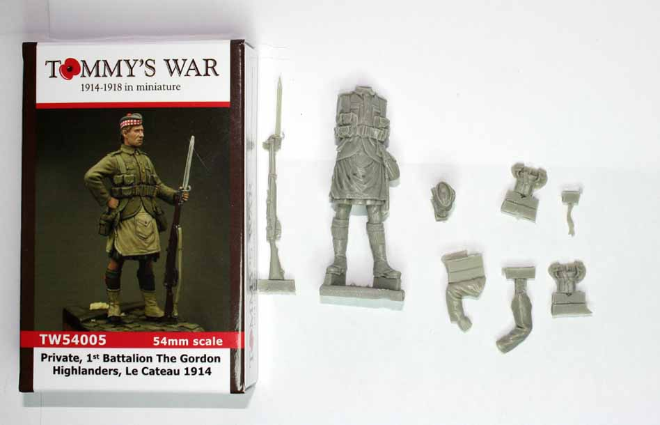 Tommys War Miniatures – 1st Battalion Gordon Highlanders unboxed.