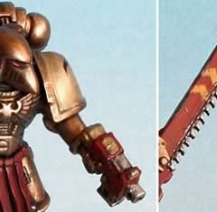Painting Guide for Minotaurs Space Marines Chapter