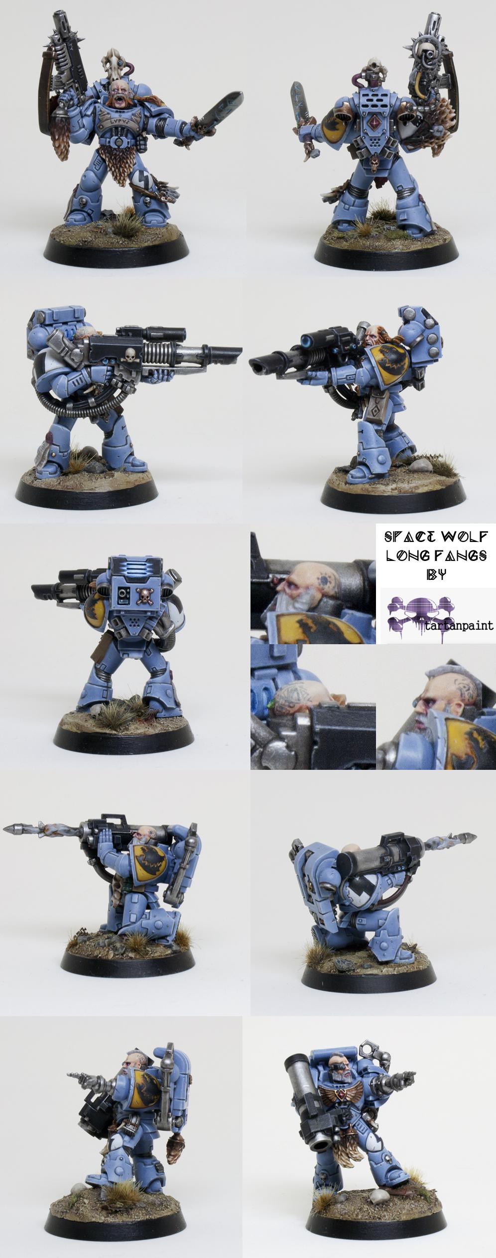 Space Wolves Long Fangs - Group - medium