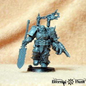 641061-Apothecary, Chaos, Chaos Space Marines, Conversion, Dumah, Khorne, Khorne's Eternal Hunt